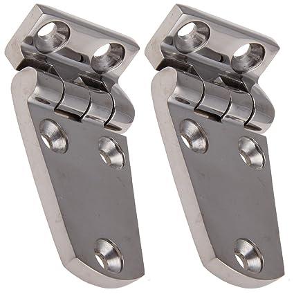 Bisagras de acero inoxidable 2 Prisma de esquina 70 x 37 mm ...