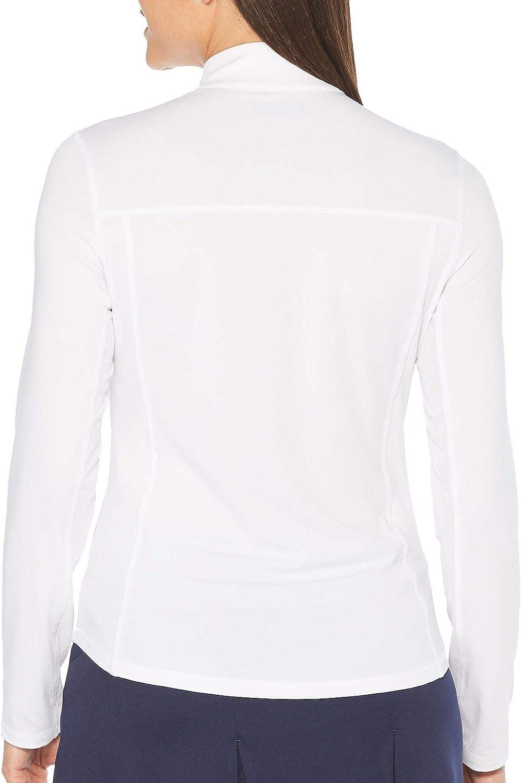 Details about  /PGA TOUR Women/'s 1//4 Zip Long Sleeve Sun Protectio Choose SZ//color