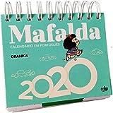 CALENDÁRIO DE MESA EM PORTUGUÊS MAFALDA 2020 AZUL