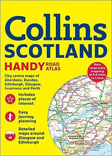 Collins Handy Road Atlas Scotland: Collins Maps ...