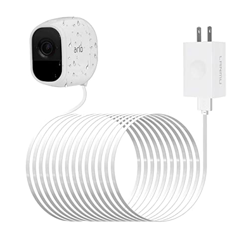 LANMU Weatherproof Outdoor Power Cable for Arlo Pro and Arlo Pro 2 with  Quick Charge 3 0 Power Adapter Compatible with Arlo Pro,Arlo Pro 2,Arlo Go  and