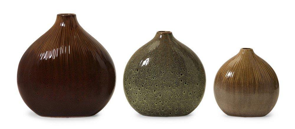 Amazon IMAX Myanmar Vase Set of 3 Home & Kitchen