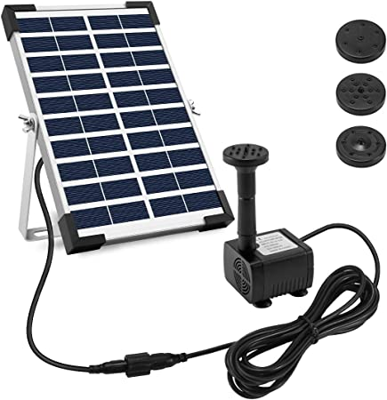 side facing ankway 5W solar pump kit
