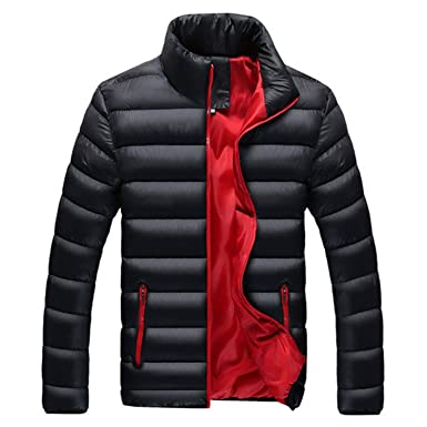 Jacket Men Warm Coat Black Outwear Chaquetas Plumas Hombre Winter Mens Coats Jackets,8018Black,