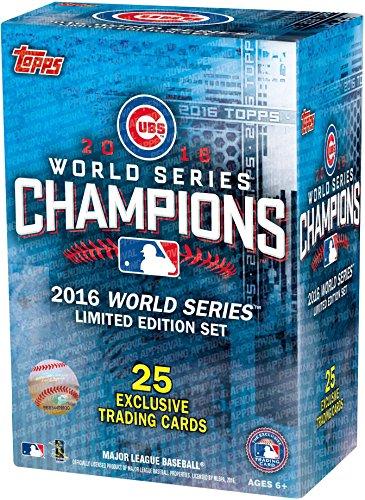 (2016 Topps Chicago Cubs World Series Commemorative 25 Card Set - Baseball Team Sets)
