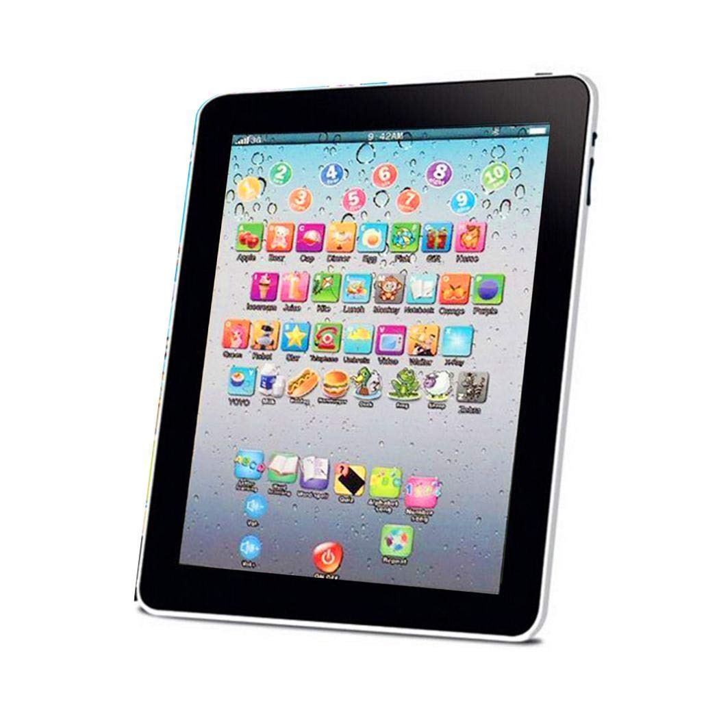 Meflying Kids Pad Toy Pad Computer Tablet Education Learning Education Machine Touch Screen Tab Electronic Systems by Meflying (Image #3)