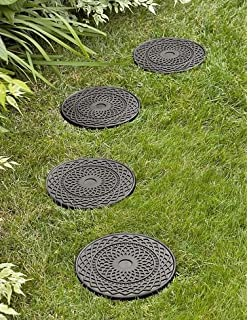 Amazon envirotile anti fatigue reversible butterfly recycled dahlia stepping stone workwithnaturefo