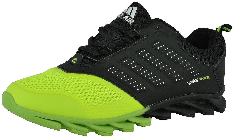 76a91365fd9a MAX AIR BLADE SPORTS SHOES BLACK GREEN (10 M US Men)  Amazon.in  Shoes    Handbags