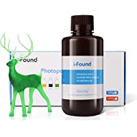 i-Found 3D Printer Resin, LCD UV-Curing Resin Compatible with Any LCD 3D Printing,405 nm Standard photopolymer Resin…