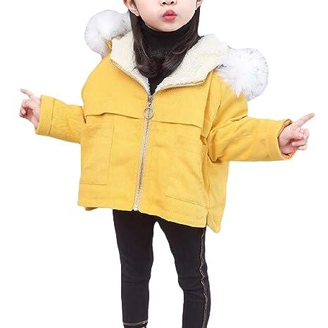 C/&H Girl Sherpa Hoodie Fashion Warm Overcoat Parkas Jackets Coat