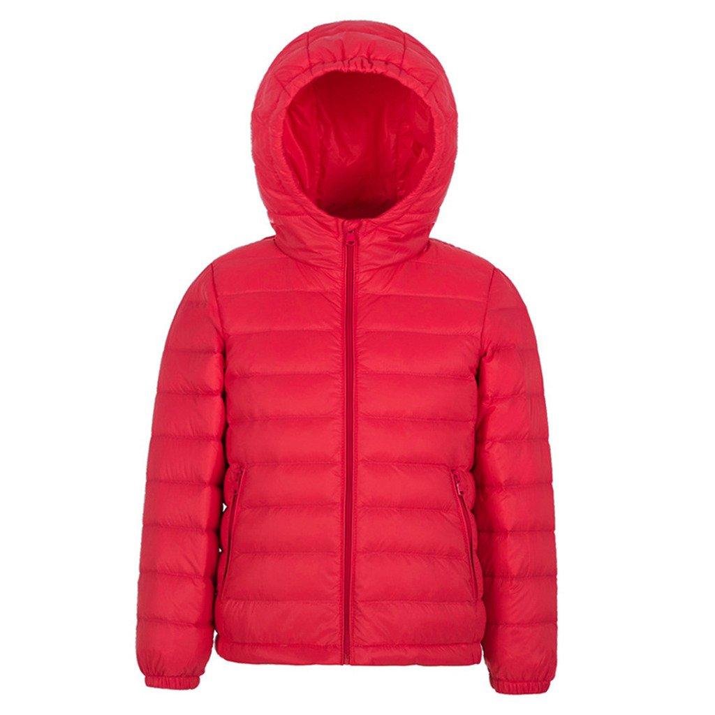 YISUMEI Unisex Down Jacket Thin Hoodie Winter Packable
