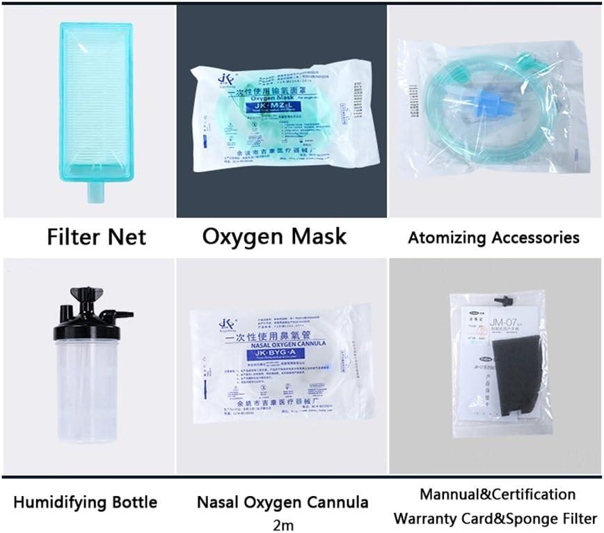 MEI XU Concentrador de oxígeno - Temporizador Concentrador de ...