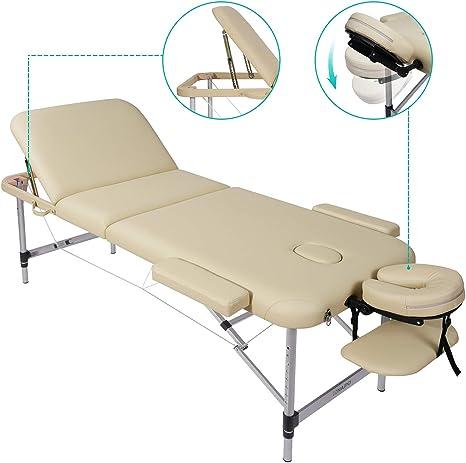 Lettino Pieghevole Per Massaggio.Naipo Lettino Massaggio Pieghevole Lettini Per Massaggi Portatile