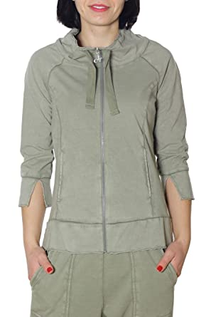 734006df03 DEHA Felpa Donna B74200 MainApps: MainApps: Amazon.it: Abbigliamento