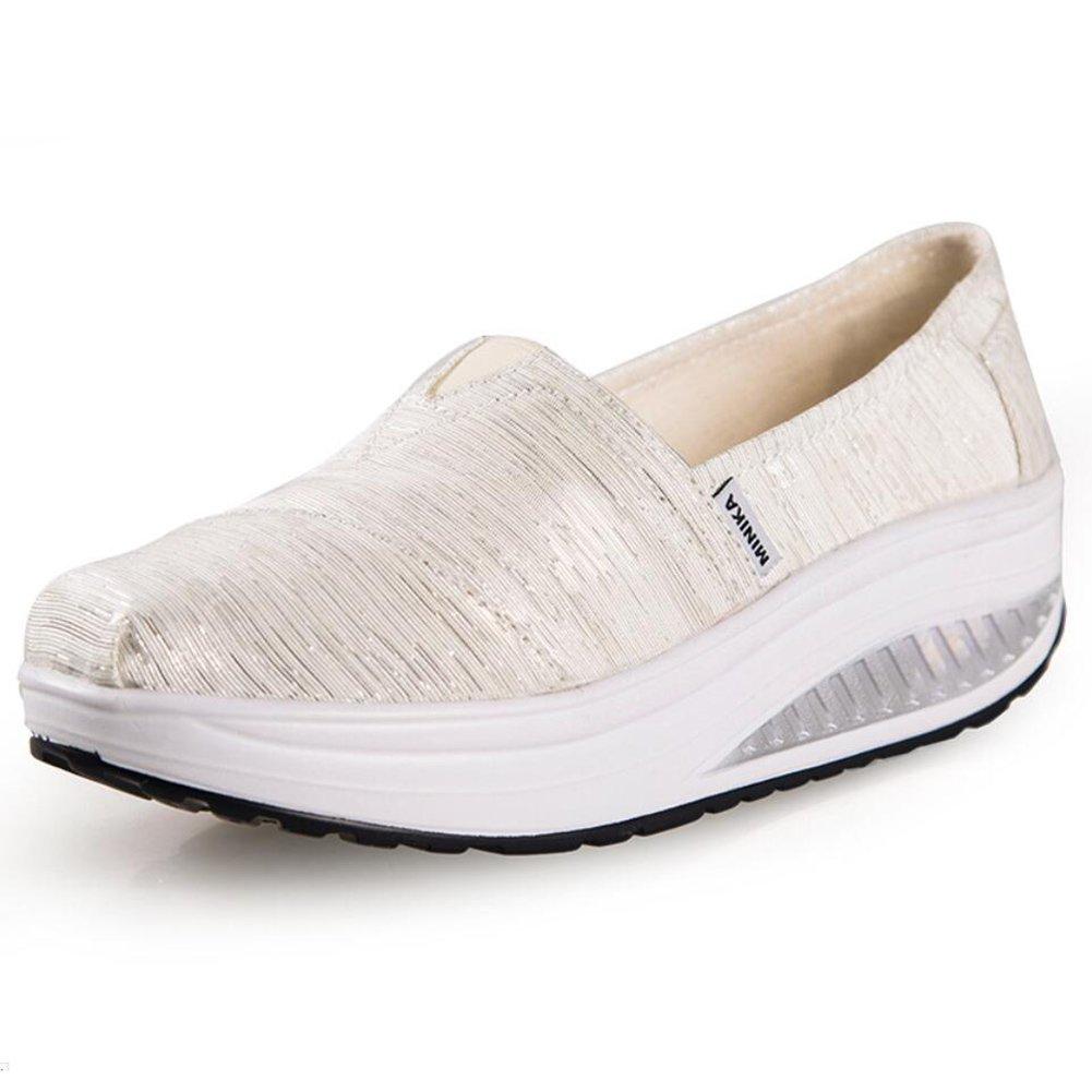 XUE Damenschuhe Frühling Herbst Loafers & Slip-Ons Driving schuhe Fitness Shake schuhe Shake Schuhe Shaking schuhe Flache Loafers Turnschuhe Sportschuhe Plateauschuhe (Farbe   C Größe   36)