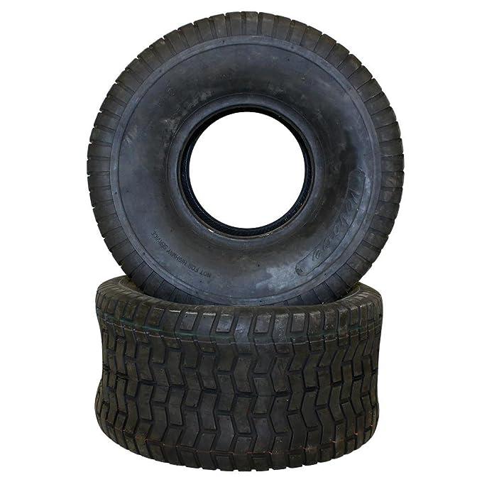 2 Neumáticos 20 x 10.0 - 8 schlauchlos TL Césped Tractor ...