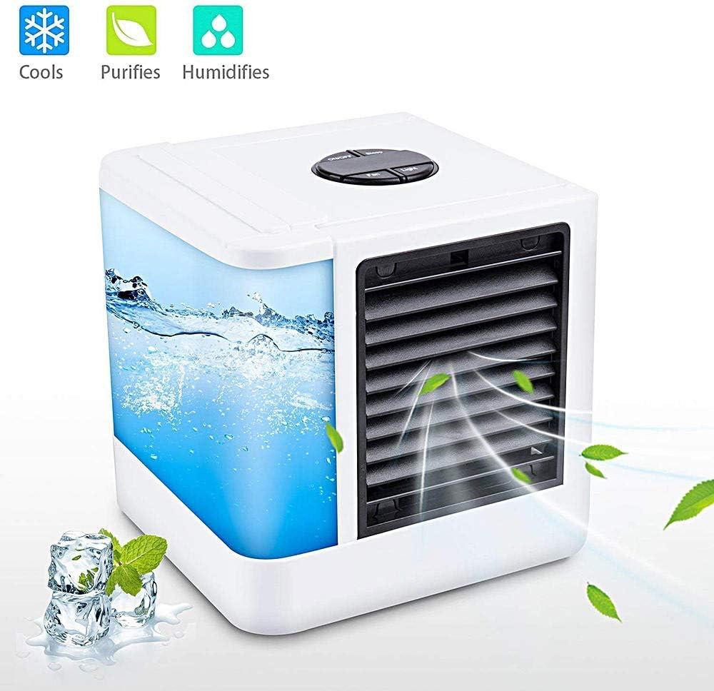 Shop USB Mini Portable Air Conditioner Humidifier Air Cooler