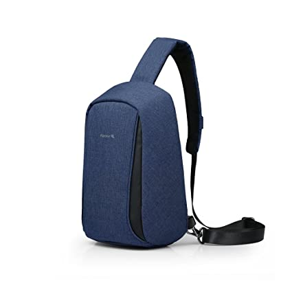 65c8c4c1908b Amazon.com  Anti-Theft Crossbody Backpack for Men   Women Sling Shoulder Bag  Water Resistant Chest Bag by Hanke  Computers   Accessories