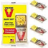 Easy Set Mice Trap - 4 Traps