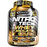 MuscleTech NitroTech Whey Plus Isolate, Vanilla Bean, 4 Pound For Sale