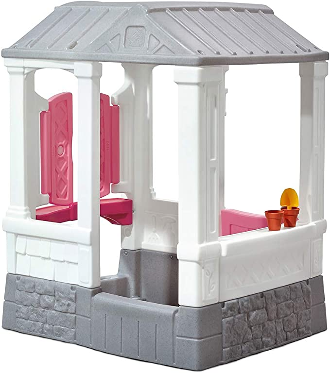 Step 2 Casa de Campo Courtyard Cottage, Color Rosa (ColorBaby 85311): Amazon.es: Juguetes y juegos