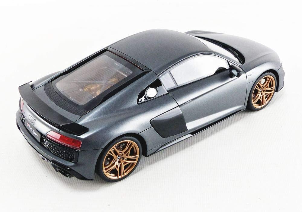 GT Spirit kompatibel mit Audi R8 Decennium matt grau Modellauto 1:18