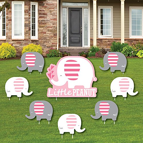 Pink Elephant - Yard Sign & Outdoor Lawn