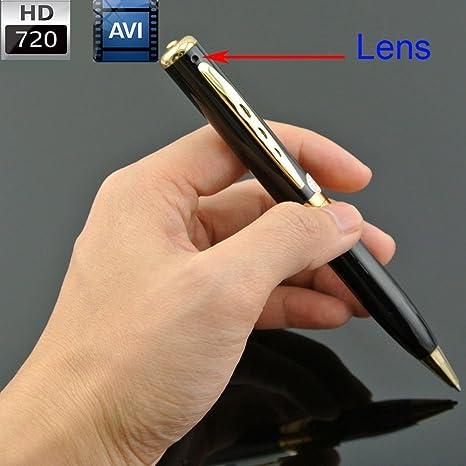 Pluma cámara * CON 8 GB TARJETA DE MEMORIA SD * Micro USB espía ...