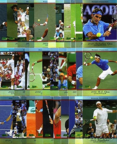 Ace Authentic Roger Federer All Time Singles ()