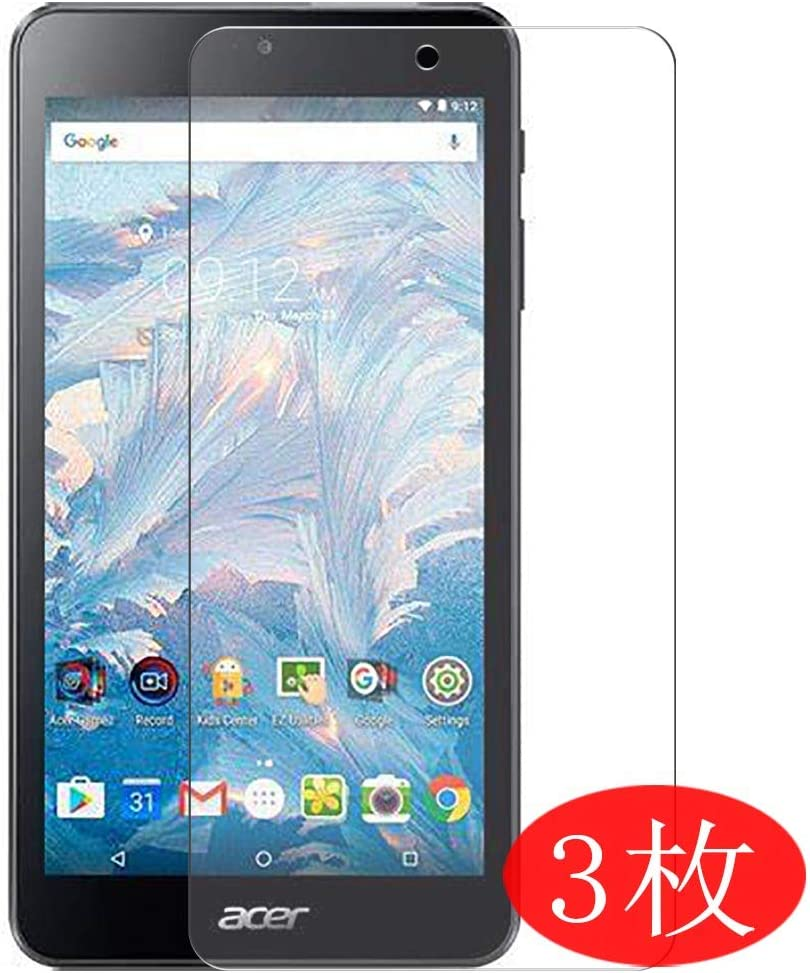 """【3 Pack】 Synvy Screen Protector for ACER B1-790 iconia one 7 7"""" TPU Flexible HD Film Protective Protectors [Not Tempered Glass]"""