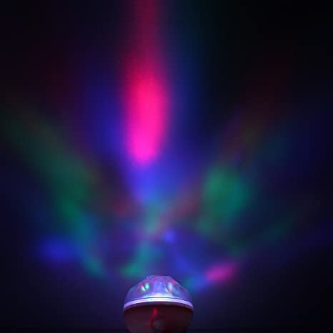 SOLMORE - Proyector LED de aurora boreal RGB, altavoz ...