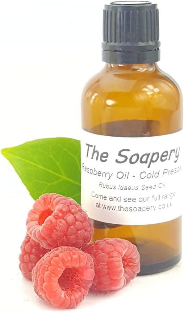 Aceite de semillas de frambuesa roja, 50 ml, 100% puro prensado en frío
