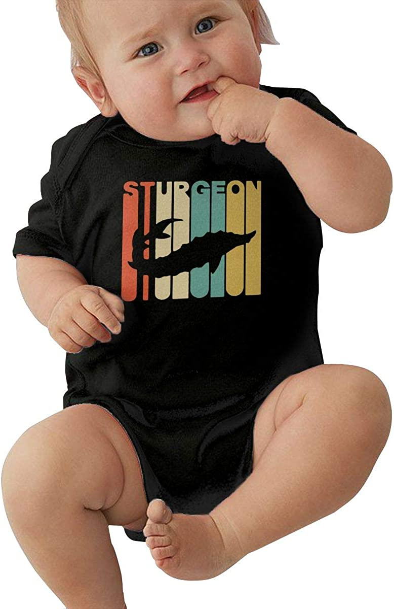 Long Sleeve Cotton Rompers for Unisex Baby Soft Retro Style Dinosaur Silhouette Jumpsuit Black