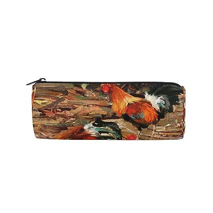 Bennigiry - Estuche para lápices, diseño de gallo de gallo ...
