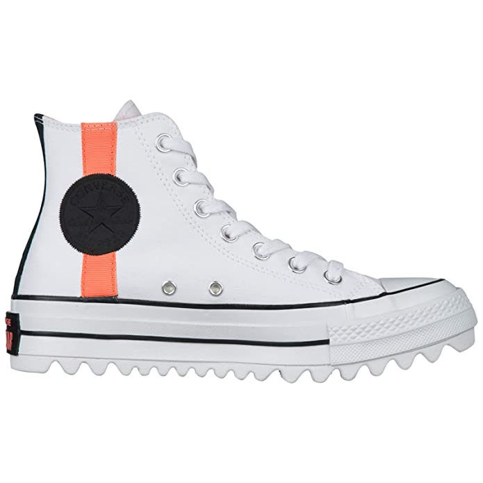 Amazon.com | Converse Womens CTAS Lift Ripple Hi Textile Trainers | Shoes