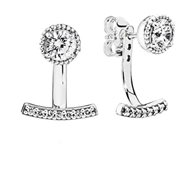 99795dda4 Image Unavailable. Image not available for. Color: PANDORA Abstract  Elegance Earrings ...