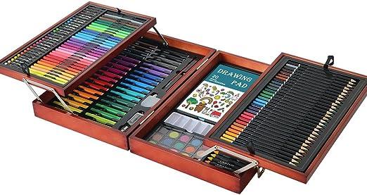 Kanqingqing Caja Colores Niños Juego Creativo de 178 Piezas de ...