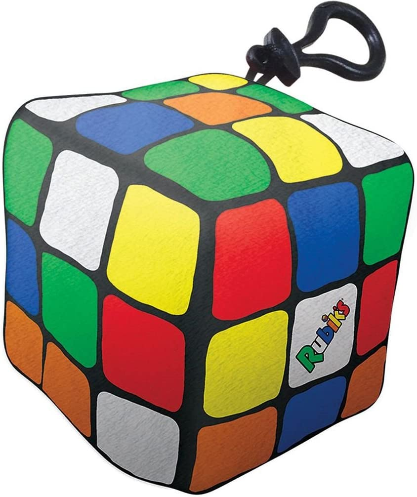 iscream Rubik's Cube Mini Microbead Pillow Backpack Charm