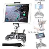 Aluminum-Alloy Base Foldable 4-12 Inch Tablet Stand for DJI Mavic Pro and DJI Spark Drone Remote Controller iKNOWTECH Mavic Pro Tablet Holder