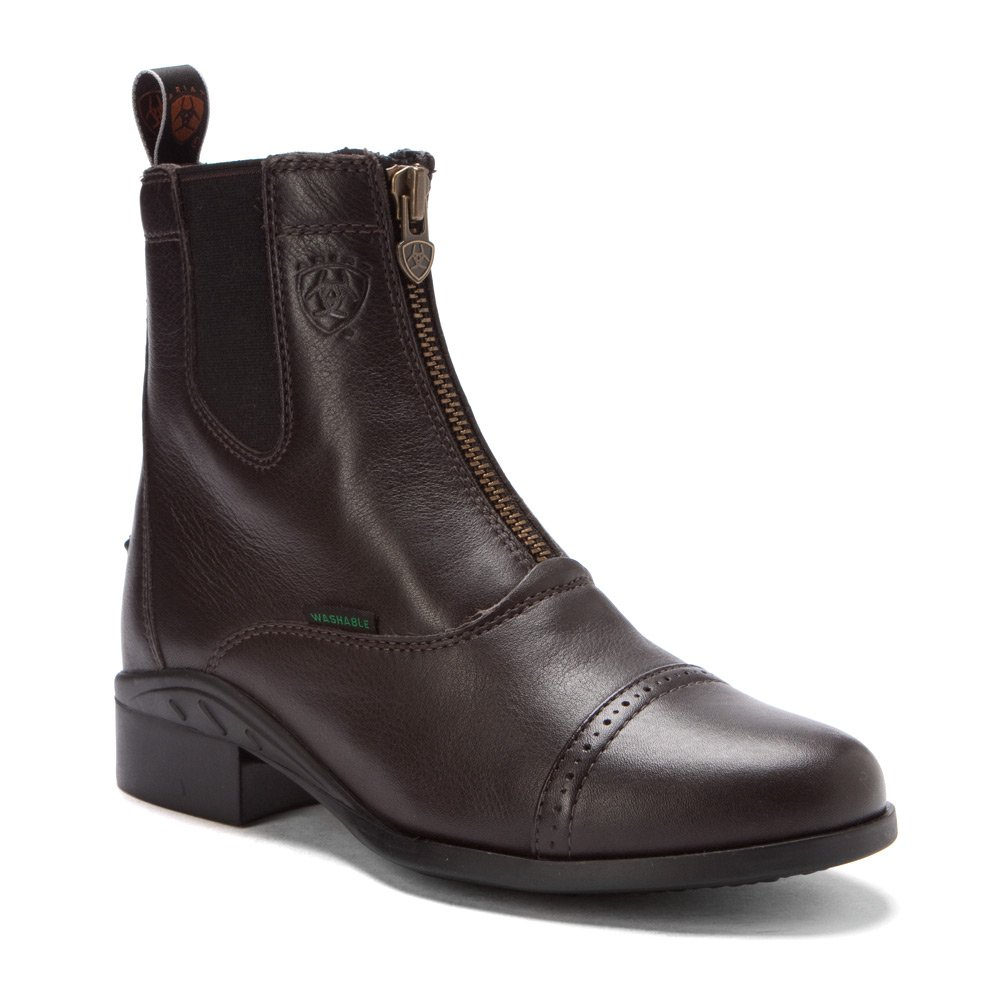 Ariat Womens Heritage Breeze Zip Paddock B003K2Y2RW 8 B / Medium(Width)|Chocolate