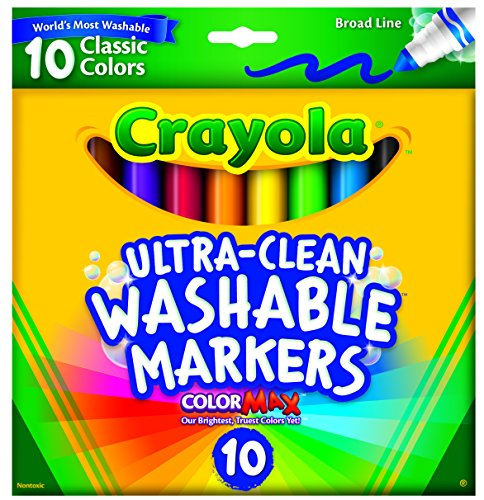 Crayola Ultraclean Broad Washable Markers