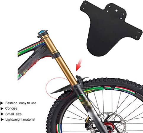 Rear  MTB Mud Guards Black Parts Mountain Bike Folding  Cycling Fender Front