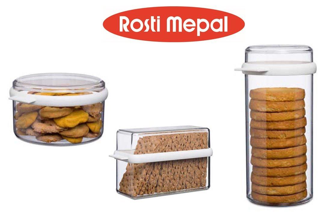 enorme selectie van betaalbare prijs betaalbare prijs Rosti Mepal Stora Round Plastic Container with Clear Lid - 50 Ounces - For  Dry Foods