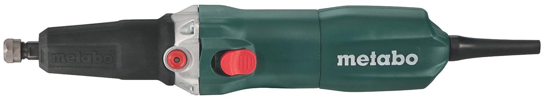Metabo 6.00616.00 600616000-Amoladora Recta para Metal GE Plus 710W Pinza de 6 mm, 710 W, Negro, Verde