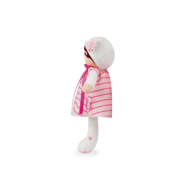 18 cm Kaloo Tendresse Ma 1/ère poup/ée en tissu Rose K