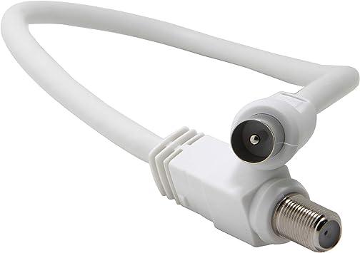 Cable Coaxial de Antena de TV de 0.5M, Cable de Satélite ...