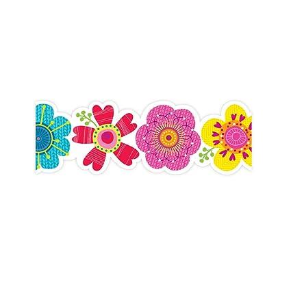Amazon Com Creative Teaching Press Springtime Blooms Border 2680
