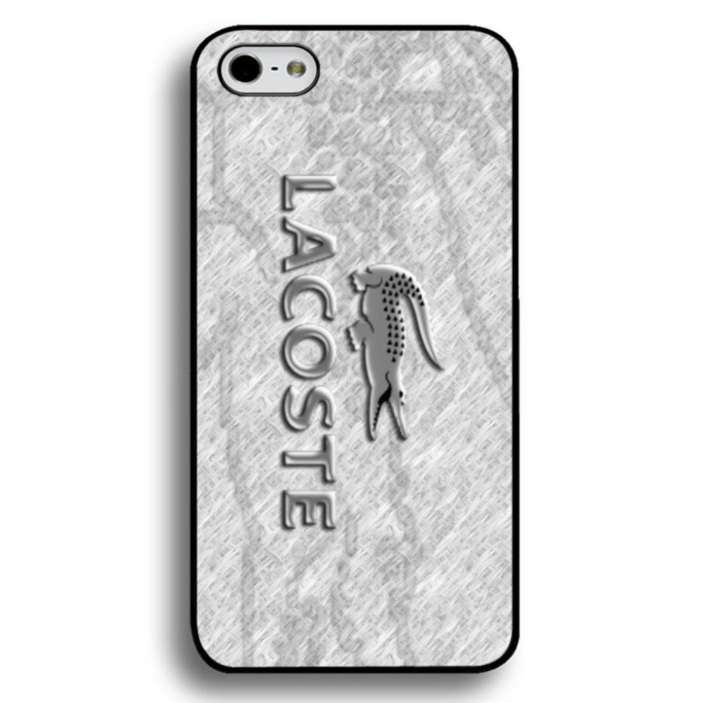odebrać kolejna szansa Hurt Unique Style Lacoste Logo Phone Case Black Hard Plastic Case ...