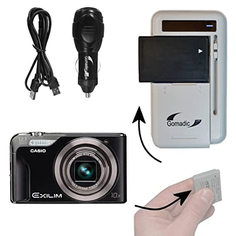 Amazon. Com: battery charger kit compatible with casio exilim ex.