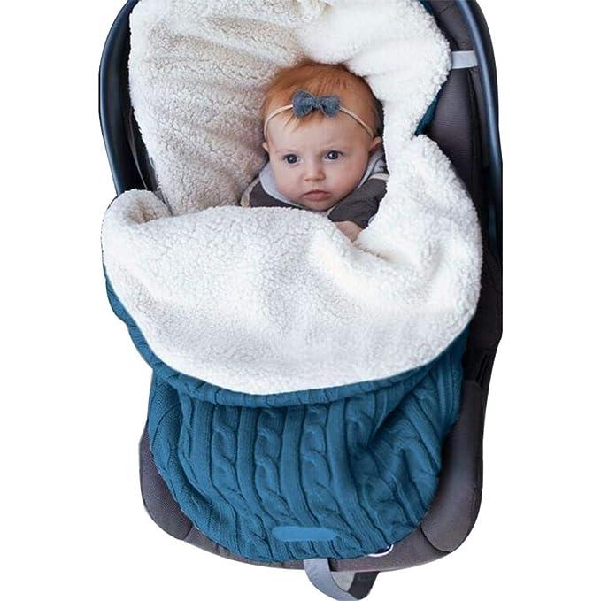 Amazon.com: Lunir - Saco de dormir para bebé (forro de felpa ...